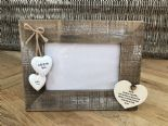 Shabby personalised Chic Photo Frame Auntie Aunty Great Aunt Gift  Present - 332540468779